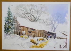 Liz Hayward's finished picture