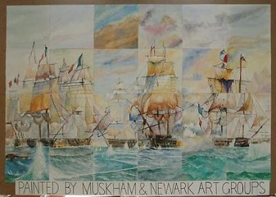 The Battle of Trafalgar by MAG